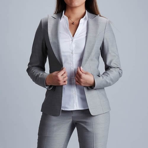 women tailor made suit
